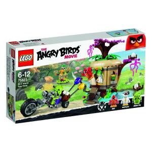【新品】LEGO THE ANGRY BIRDS MOVIE レゴ アングリーバード 75823 バードアイランド卵強盗 おもちゃ