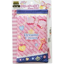 【新品】New 3DSLL用 アイカツ!クリーナー巾着 Dreamy Crown  AKG01-1 プレックス