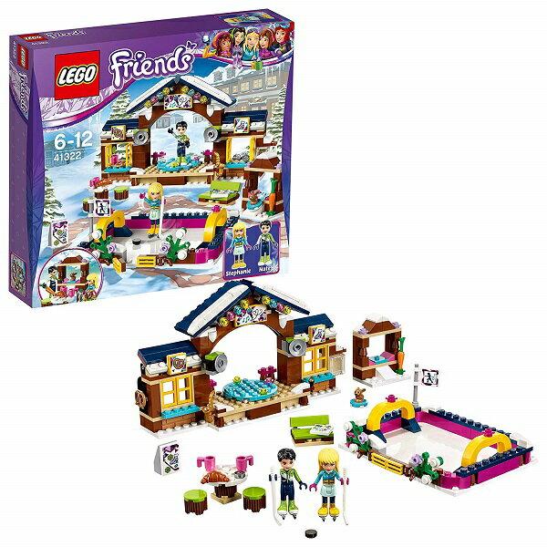 """【新品】LEGO friends 41322 レゴ フレンズ スキーリゾート""""スケートリンク おもちゃ"""