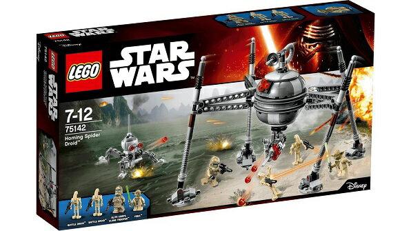 【新品】LEGO STAR WARS レゴ スター・ウォーズ 75142 ホーミング・スパイダー・ドロイド Homing Spider Droid おもちゃ