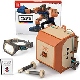 【新品】NintendoLaboニンテンドーラボ Toy-Con02: RobotKitロボットキット【Switch】HACRADFVA/A 全年齢対象