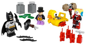 【送料無料】LEGO 40453 Batman mot Pingvinen og HarleyQuinnレゴ バットマン対ペンギンとハーレークイン