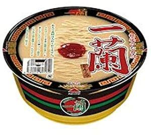 【送料無料】一蘭 とんこつ 128g 秘伝のたれ付 カップめん 豚骨 とんこつラーメン カップラーメン