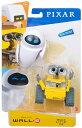 【新品】アクションフィギュア ウォーリー ・イヴ 2点セット  GLX86 マテル Mattel ディズニー ロボット WALL・E …