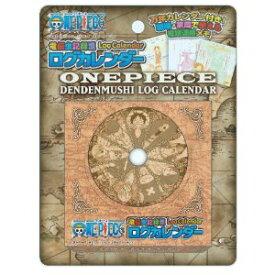 e736a8357bb4 ワンピース 電伝虫記録票ログカレンダー(万年カレンダー付き電話メモパッド)