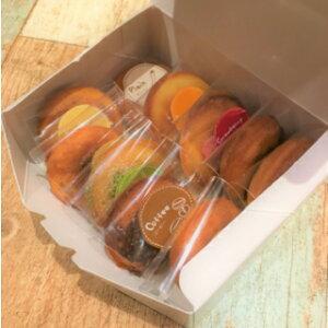 ミニ焼きドーナツ50個入<人気ドーナツ10種類詰め合わせ>ヘルシー 焼きドーナツ スイーツ ミニサイズ 差し入れ プレゼント インスタ ギフト 可愛い