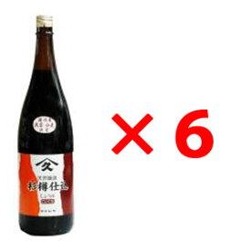 ヤマヒサ 純正濃口しょうゆ 1.8L×6本【メーカー取寄品】【まとめ買い】【ムソー】