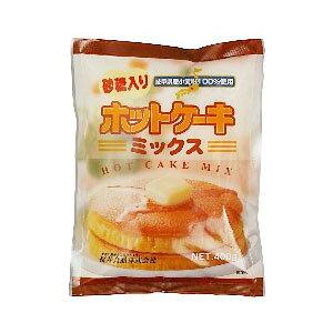 桜井 ホットケーキミックス・砂糖入り 400g ×5袋【ムソー】【まとめ買い】国産小麦粉使用。ベーキングパウダー不使用