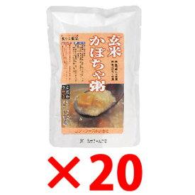 コジマ 玄米かぼちゃ粥 200g×20袋【メーカー取寄品】【まとめ買い】【ムソー】