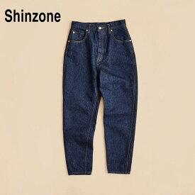 【THE SHINZONE|ザ シンゾーン】キャロットデニム/19SMSPA68 サイズ:p - 36 カラー:85インディゴ