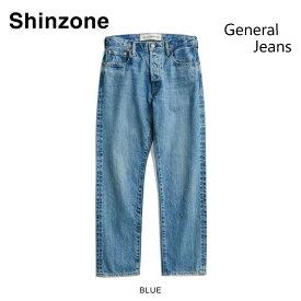 【THE SHINZONE|ザ シンゾーン】ジェネラルジーンズ/18SMSPA65 サイズ:32 - 38 カラー:インディゴブルー