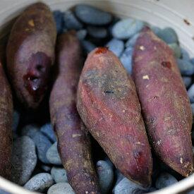 【無塗装】焼き芋の石 1.2〜2.5cm 5kg