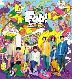 Hey! Say! JUMP/Fab! -Music speaks.-/【初回限定盤1】(CD+DVD)