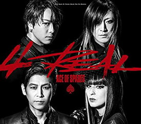 CD/ACE OF SPADES/4REAL(CD+DVD2枚組)