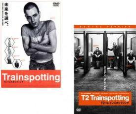 2パック【中古】DVD▼トレインスポッティング(2枚セット)1、T2▽レンタル落ち 全2巻