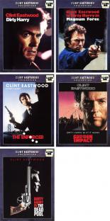 【中古】DVD▼ダーティハリー(5枚セット)Vol 1・2・3・4・5【字幕】▽レンタル落ち 全5巻