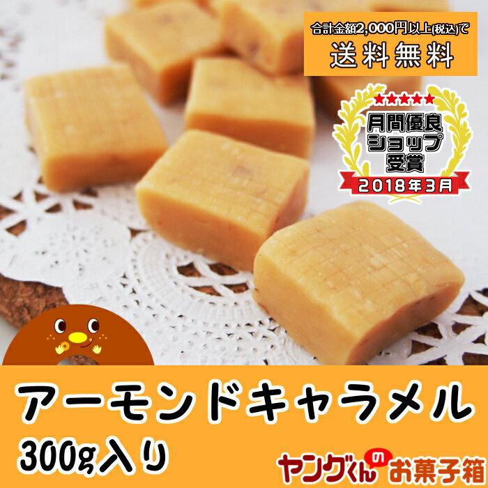 【アウトレット・訳あり】300gアーモンドキャラメル