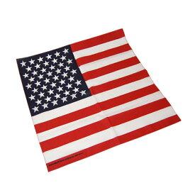 #218061ハブアハンク HAV-A-HANK バンダナ AMERICAN FLAG アメリカ国旗 55×55cm 【メール便対応/1件7枚まで】