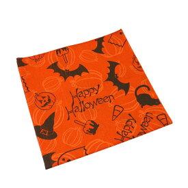 #218131ハブアハンク HAV-A-HANKバンダナ (55×55cm) 衣装 仮装 コスプレ グッズ かぼちゃ スカーフ ハンカチ 風呂敷 グランピング 正方形 雑貨 お弁当包み ランチバッグ ハロウィン オレンジ 橙