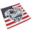 #218239ハブアハンク(HAV-A-HANK)バンダナ(55×55cm)USALANDMARKS/USAランドマークスメンズレディースキッズスカーフハンカチヘアアレンジリボン風呂敷ポケットチーフ大判正方形お弁当包み星条旗国旗青赤ブルーレッド10P03Dec16