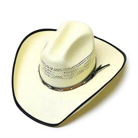 #980032ウェスタンエクスプレス(WesternExpress)ペーパー素材ストローハット メンズ ウェスタンハット ストローハット 麦わら帽子 中折れ帽子 中折れハット ビーチ マリンファッション 通気性 軽量 紙素材 白 ホワイト 生成り L XL