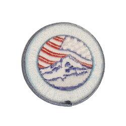 #928121オレゴニアン・キャンパー(OregonianCamper)マウントフッドワッペンアイロン圧着星条旗Mt.Hood刺繍アメリカゴールドオレンジ【RCP】