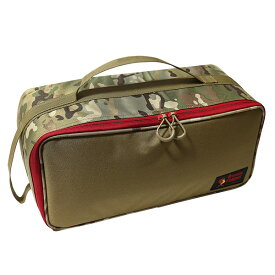 #928248オレゴニアンキャンパー Oregonian Camper セミハードギアバッグ <Lサイズ> (コヨーテ×マルチカモ) 40×18×19cm 【RCP】