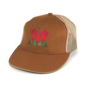 #920009オレゴニアンアウトフィッターズ(Oregonian Outfitters)ウッズ刺繍メッシュキャップ - ELK(ブラウン) メンズ 帽子 ベースボールキャップ 野球帽 アウトドア 釣りグランピング カモシカ 森 通気性抜群 蒸れない OOH 202L 【RCP】