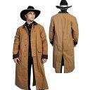 #912086スカリー(Scully)キャンバスダスターコート - DUSTER COAT メンズ アウトドア キャンプ ウエスタン カウボーイ…