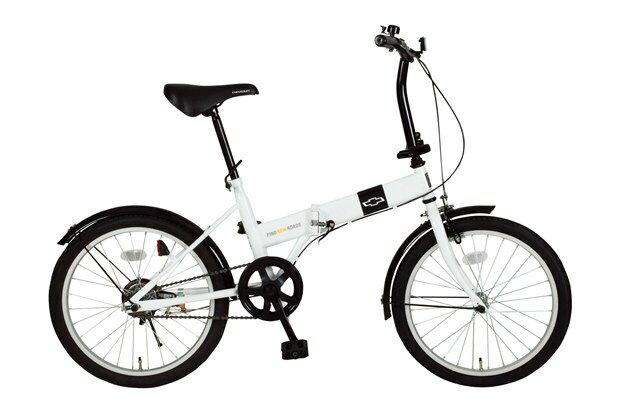 【送料無料】【代引不可】ミムゴ CHEVROLET FDB20R 折りたたみ自転車 MG-CV20R[20インチ/ホワイト]【メーカー直送】【楽天】