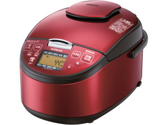 Hitachi rice cooker best rice pressure & steam RZ-SG 10J(R) [Red] [breads: Rinse free courses and in the lid wash / pressure IH rice cooker cooking rice amount: 5.5 If inner pot: black thick iron boiler / steam]