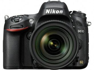 尼康数码单反照相机D610 24-85 VR透镜配套元件[类型:单反像素数:2466万像素(全部,像素)/2426万像素(有效像素)摄像元件:最大尺寸/35.9mm×24mm/CMOS连写拍摄:6片断/秒重量:760g]