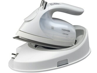 TOSHIBA iron LaCoo TA-FVX620(W) [pearl white] [a type: for a cord reply steam iron aspect material: ceramic system hanger iron (handy) :○ auto-off :○ steam :○]