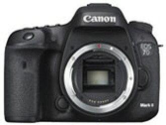 CANON数码单反照相机EOS 7D Mark II身体[类型:单反像素数:2020万像素(有效像素)摄像元件:APS-C/22.4mm×15mm/CMOS连写拍摄:10片断/秒重量:820g]
