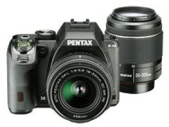 宾得士数码单反照相机PENTAX K-S2双变焦距镜头配套元件[黑色][类型:单反像素数:2042万像素(全部,像素)/2012万像素(有效像素)摄像元件:APS-C/23.5mm×15.6mm/CMOS连写拍摄:5.5片断/秒重量:618g]