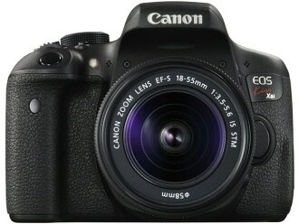 CANON数码单反照相机EOS Kiss X8i EF-S18-55 IS STM透镜配套元件[类型:单反像素数:2470万像素(全部,像素)/2420万像素(有效像素)摄像元件:APS-C/22.3mm×14.9mm/CMOS连写拍摄:5片断/秒重量:510g]