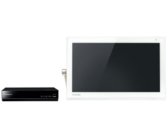 """Panasonic private mobile TV """"Viera"""" UN-15T5-W [White] [screen size: 15 inch compatible batteries: charging pond maximum battery lasting time: 3.5 hours size:407x250x34.6mm weight: 1400 g]"""