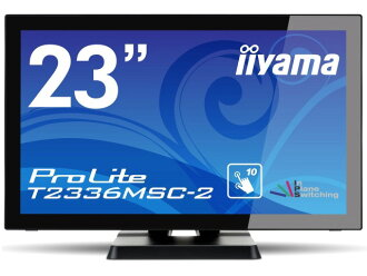 IIYAMA LCD monitor and LCD display ProLite T 2336 MSC-2 T2336MSC-B2 [23-inch Marvel Black] [size: 23 inch monitor Tip: widescreen resolution (standard): full HD input terminal:DVIx1/D-Subx1/HDMIx1/USBx1]