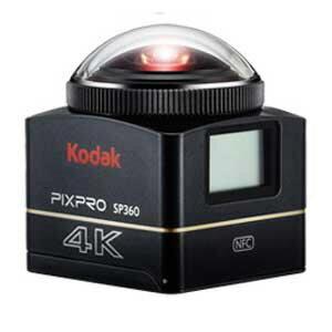 コダック ビデオカメラ PIXPRO SP360 4K [タイプ:アクションカメラ 画質:4K 撮影時間:55分 本体重量:102g 撮像素子:CMOS 1/2.3型] 【楽天】 【人気】 【売れ筋】【価格】