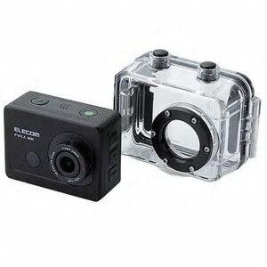エレコム ビデオカメラ ACAM-F01SBK [タイプ:アクションカメラ 画質:フルハイビジョン 撮像素子:CMOS] 【楽天】 【人気】 【売れ筋】【価格】【エントリーでポイント5倍】