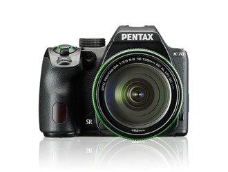 宾得士数码单反照相机PENTAX K-70 18-135WR配套元件[黑色][类型:单反像素数:2478万像素(全部,像素)/2424万像素(有效像素)摄像元件:APS-C/23.5mm×15.6mm/CMOS连写拍摄:6片断/秒重量:628g]