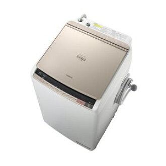 日立洗衣機拍手洗滌BW-DV80A(N)[香檳][洗衣烘乾機開閉型洗衣機風格開洗衣容量:8kg乾燥容量:4.5kg]