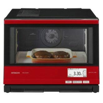 日立電子微波爐海爾海洋廚師長MRO-SV2000(R)[有金屬特性的紅][類型:電子微波爐庫裏面的容量:33L最大範圍輸出:1000W]