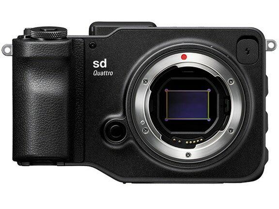 【ポイント5倍】シグマ デジタル一眼カメラ SIGMA sd Quattro ボディ [タイプ:ミラーレス 画素数:3320万画素(総画素)/2950万画素(有効画素) 撮像素子:APS-C/23.4mm×15.5mm/CMOS 連写撮影:4.3コマ/秒 重量:625g] 【楽天】 【人気】 【売れ筋】【価格】