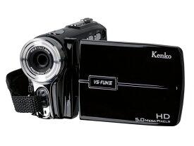 ケンコー ビデオカメラ VS-FUN III [タイプ:ハンディカメラ 画質:ハイビジョン 本体重量:211g 撮像素子:CMOS 1/3.2型] 【楽天】 【人気】 【売れ筋】【価格】
