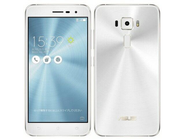 【ポイント5倍】ASUS スマートフォン ZenFone 3 ZE520KL-WH32S3 SIMフリー [パールホワイト] [キャリア:SIMフリー OS種類:Android 6.0 販売時期:2016年秋モデル 画面サイズ:5.2インチ 内蔵メモリ:ROM 32GB RAM 3GB バッテリー容量:2650mAh]