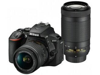 尼康数码单反照相机D5600双变焦距镜头配套元件[类型:单反像素数:2478万像素(全部,像素)/2416万像素(有效像素)摄像元件:APS-C/23.5mm×15.6mm/CMOS连写拍摄:5片断/秒重量:415g]