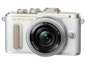 【キャッシュレス 5% 還元】 【ポイント5倍】オリンパス デジタル一眼カメラ OLYMPUS PEN E-PL8 14-42mm EZレンズキット [ホワイト] [パネルタイプ:液晶(透過型3LCD) アスペクト比:4:3 最大輝度:3300ルーメン コントラスト比:3000:1 対応解像度規格:〜UXGA]
