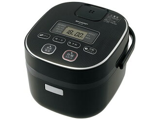 Sharp rice cooker KS-C5K-B [black system] [a type: microcomputer rice cooker cooking rice quantity: a 3 go inner pot: black thickness pot or other functions: cover circle washing / bake in rinse-free rice course /]