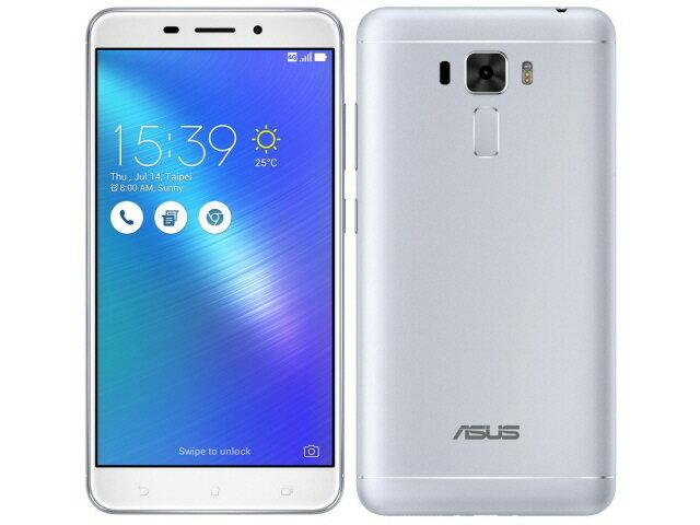 【ポイント5倍】ASUS スマートフォン ZenFone 3 Laser ZC551KL-SL32S4 SIMフリー [シルバー] [キャリア:SIMフリー OS種類:Android 6.0 販売時期:2016年秋モデル 画面サイズ:5.5インチ 内蔵メモリ:ROM 32GB RAM 4GB バッテリー容量:3000mAh]